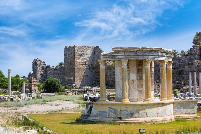 5 in 1: Antalya Excursion to Perge, Aspendos, Side, Manavgat Waterfall