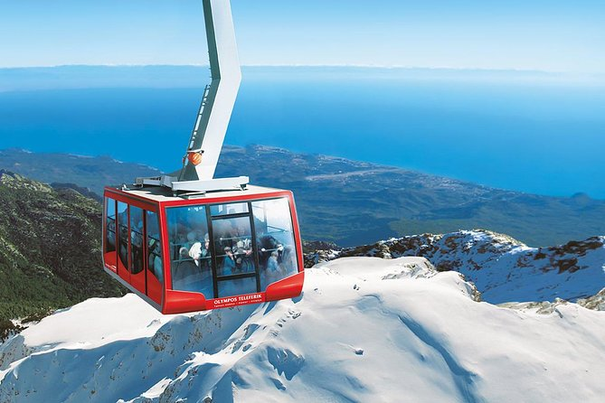 Cable Car Ride to the Top of Tahtali Mountain from Antalya, Belek and Kemer