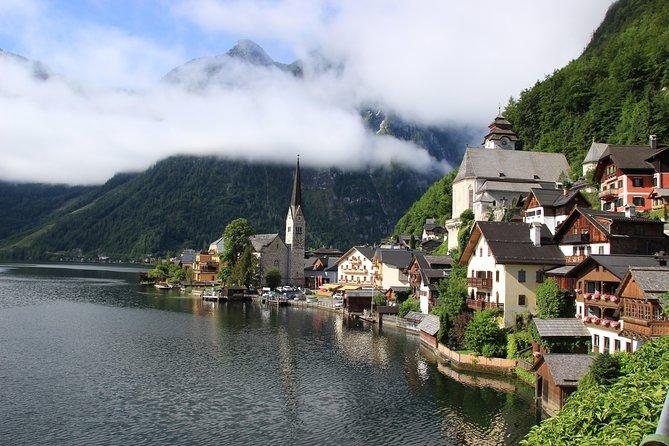 Alpine Panoramic Hallstatt Day Trip Tour from Vienna incl. Admont Abbey Visit