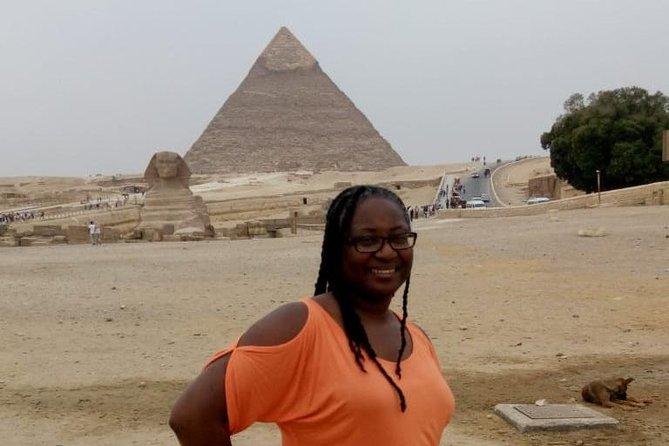 half day private tour Giza pyramids and sphinx in Cairo or Giza hotel