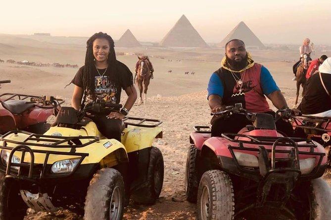 Quad Bike at Giza Pyramids Sunrise/Sunset from Cairo & Giza