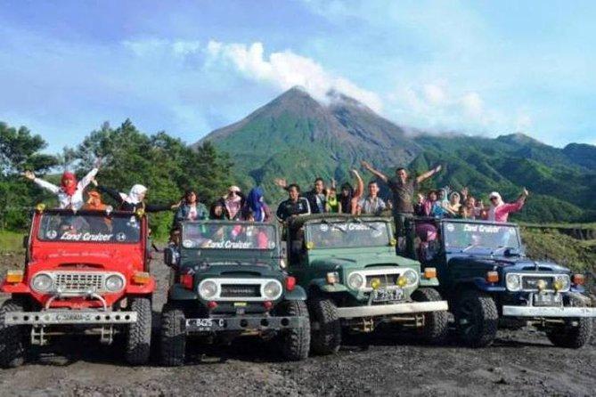 Merapi Volcano and Pindul Cave Tour from Yogyakarta