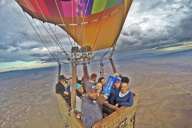 Sunrise Sonoran Desert Hot Air Balloon Ride from Phoenix