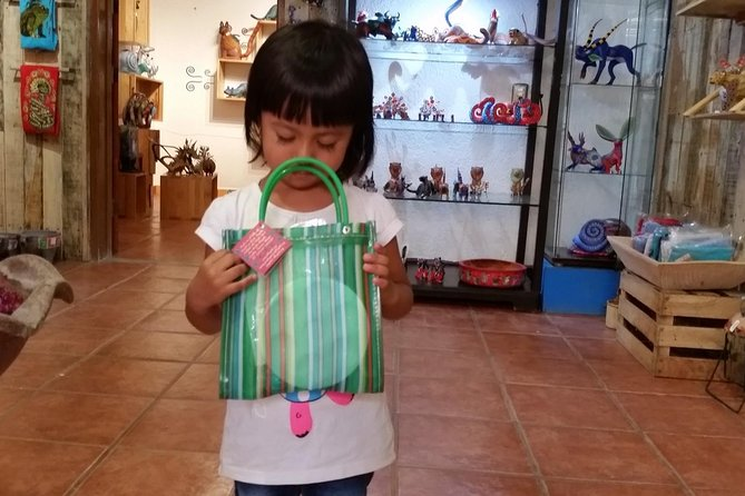 Half-Day Alebrijes Carving and Painting Workshop in San Martin from Oaxaca