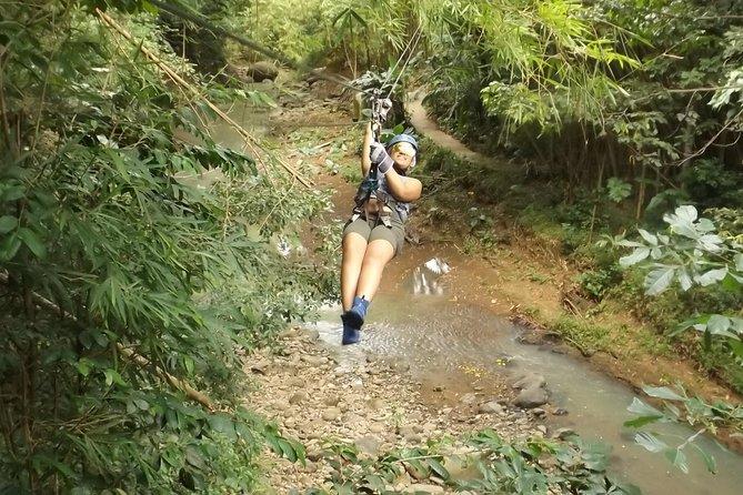 Jeep & Zipline Adventure in St. Lucia