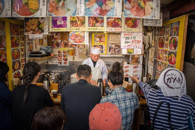 Classic Tsukiji Food Tour