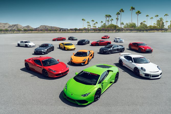Two-Hour Exotic Car Driving Experience Package in Las Vegas