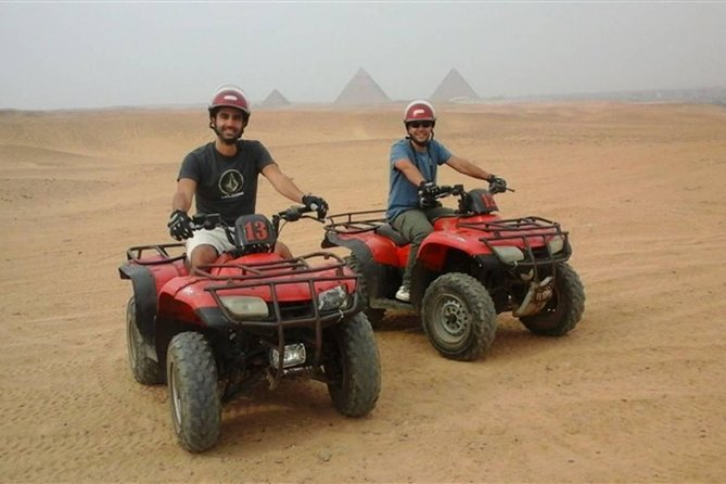 Quad Bike Trip At Desert of Giza Pyramids