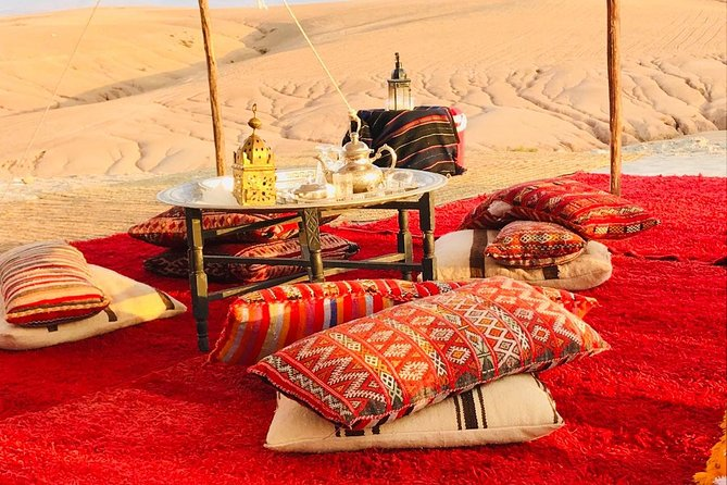 Romantic and magical dinner in Agafay desert