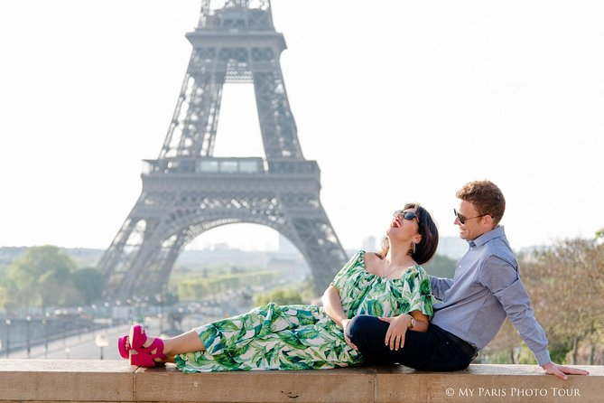 Parisian Life Style Private Photo Shoot at Eiffel Tower