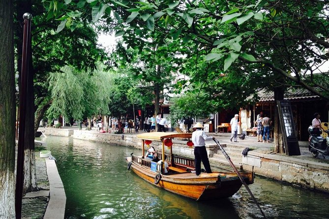 Zhujiajiao Water Town and Shanghai City Private Day Tour