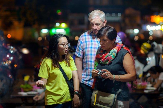 Saigon Night Street Food and City Tour on Scooter