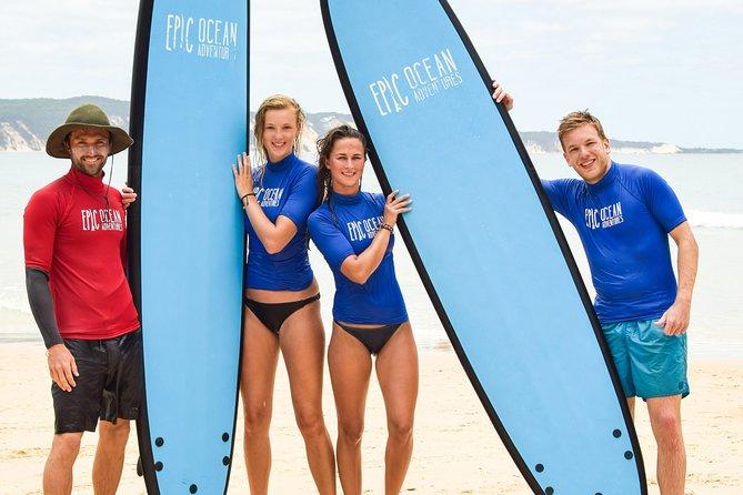Noosa Surf Lesson Austraila's Longest Wave 4x4 Day Adventure