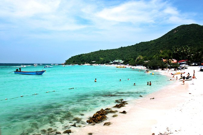Join Coral Island Half-day Trip with Thai Lunch(Ta wan Beach) from Pattaya