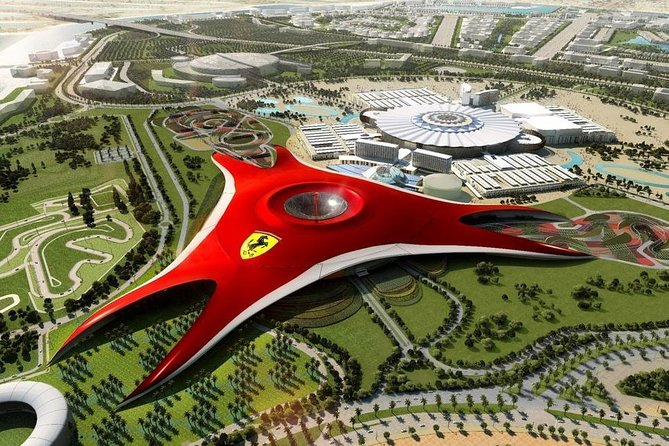 Dubai Ferrari World Theme Park Standard Ticket