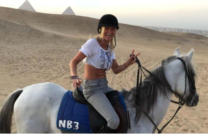 Arabian Nights Sunset Sahara Pyramids Arab Horse or camel Ride With Bedouin Tea