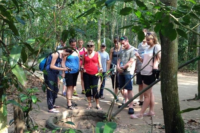 Private Cu Chi Tunnels and War Remnants Museum Tour From Phu My Port
