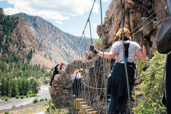 Granite Via Ferrata Climbing Experience in Buena Vista