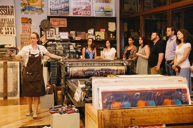Nashville's Hatch Show Print Guided Print Shop Tour with Souvenir Poster