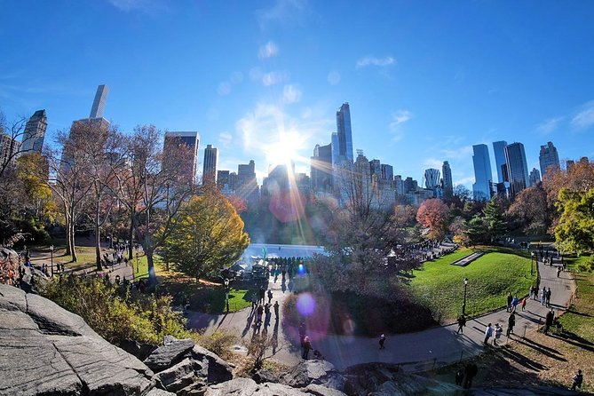 Central Park Guided Walking Tour in French