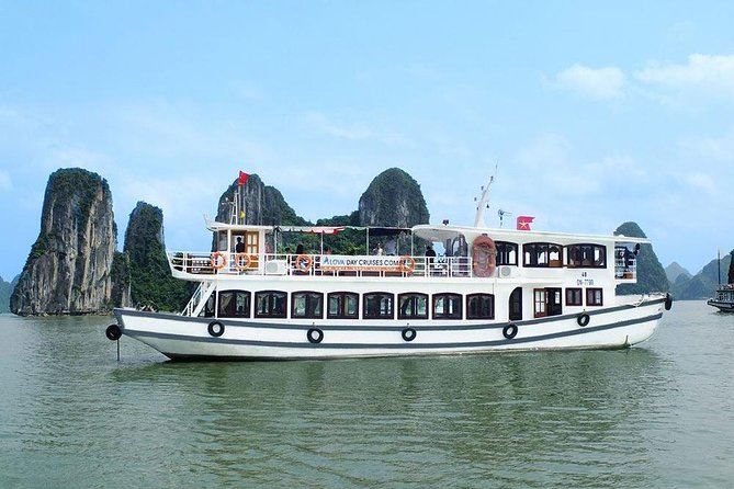 Halong Bay One Day Tour With Alova Cruises From Hanoi