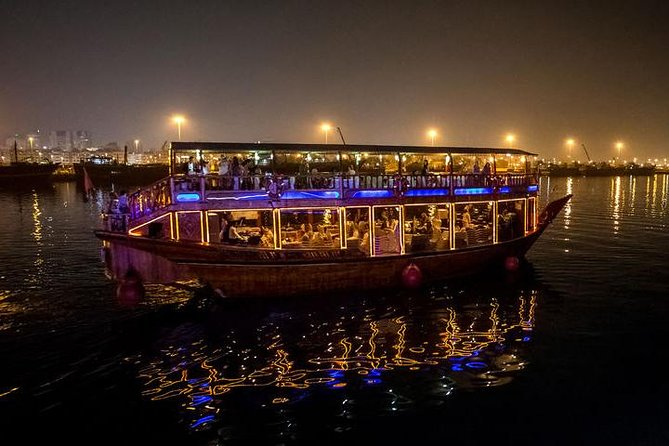 Dubai: 2-Hour Evening Dhow Cruise and Dinner