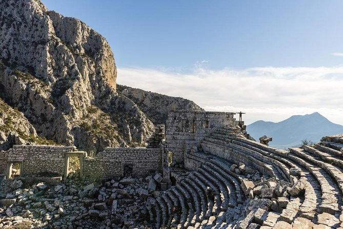 Private Tour: Termessos Ancient City and Duden Waterfalls