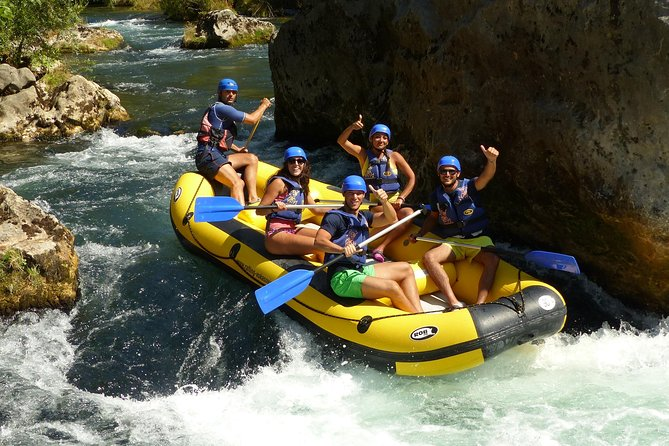 Rafting Experience in the Canyon of the river Cetina
