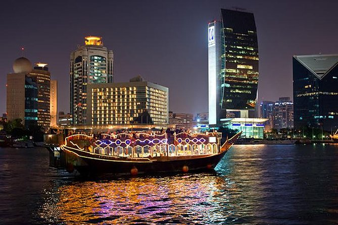 Sightseeing Dhow Cruise Dinner