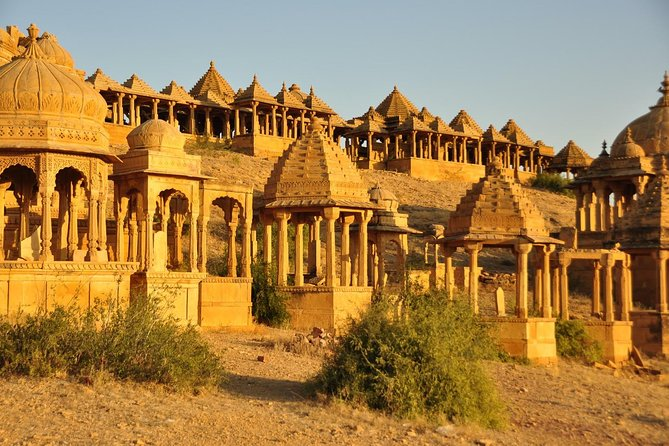Half-Day City Tour of Jaisalmer: Sunset at Sand Dunes with Dinner
