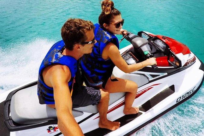 2hr Jet Ski Antigua Guided Jet Ski Tour with Snorkeling