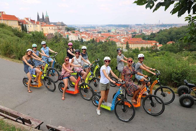 Private Grandiose half-day guided Experience of Prague on Segway and eScooter