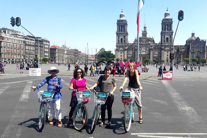 Heritage Bike Tour CDMX evolution since Tenochtitlan