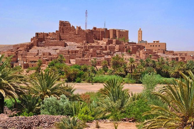 Day trip from Marrakech to world heritage kasbahs and road of Caravans
