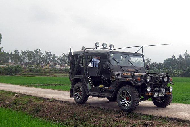 My Son Explorer Sunrise Tour from Hoi An by Military Jeep
