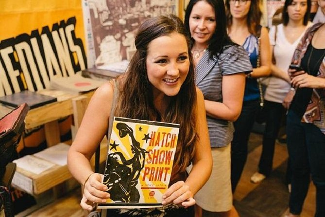 Hatch Show Print Studio Tour & Country Music Hall of Fame Combo