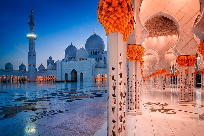 Sheikh Zayed Mosque Half Day Tour from Dubai by OceanAir™️