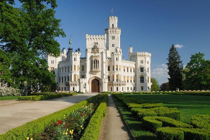 Luxury Private Day trip from Prague to Cesky Krumlov via Hluboka Castle