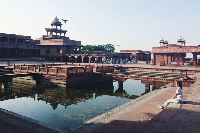 Day Trip to The Taj Mahal and Agra with Fatehpur Sikri from Jaipur