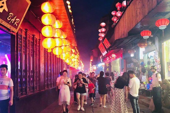 Private Night Tour to Xitang Water Town from Shanghai