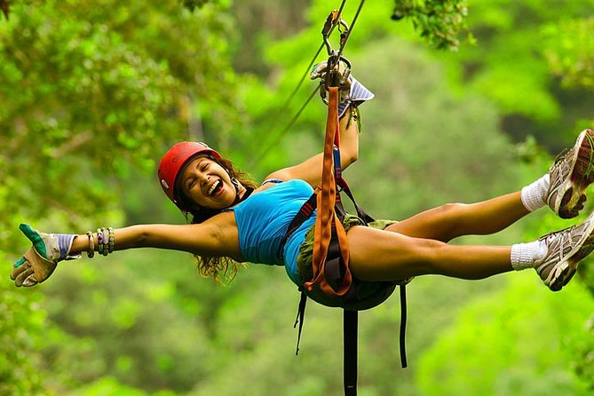 Zipline Canopy Tour from Guanacaste