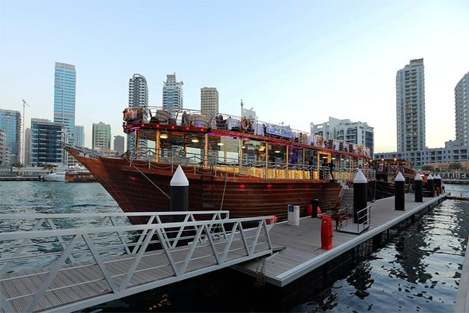 Dubai Marina: Dhow Cruise Dinner