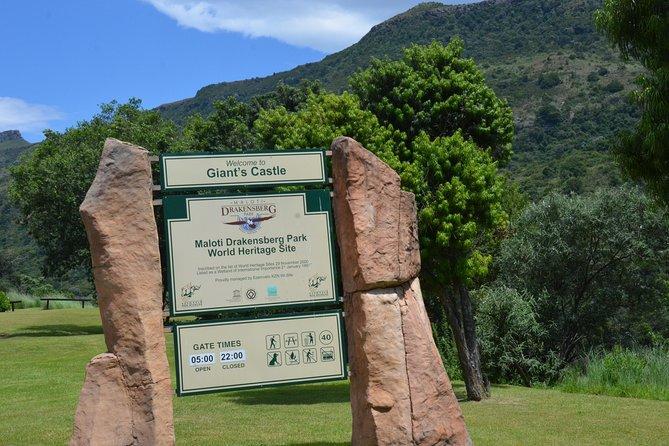 Drakensberg Giant's Castle Cave Art & Mandela Capt Site Private Tour from Durban