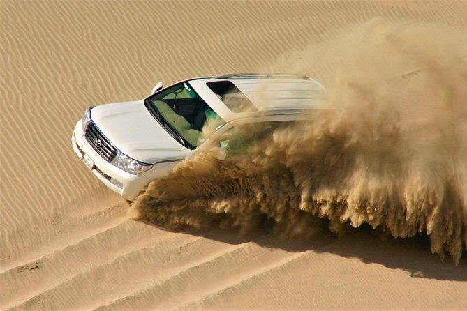 (Private) Half Day Desert Safari, Camel Ride, Sand Boarding, inland Sea Visit
