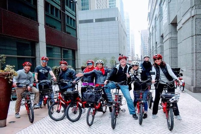Electric-Powered Biking Tour: Asakusa, Akihabara, and Imperial Palace