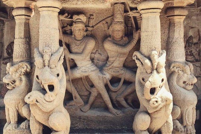 Ancient Temples Tour to Kanchipuramfrom Chennai