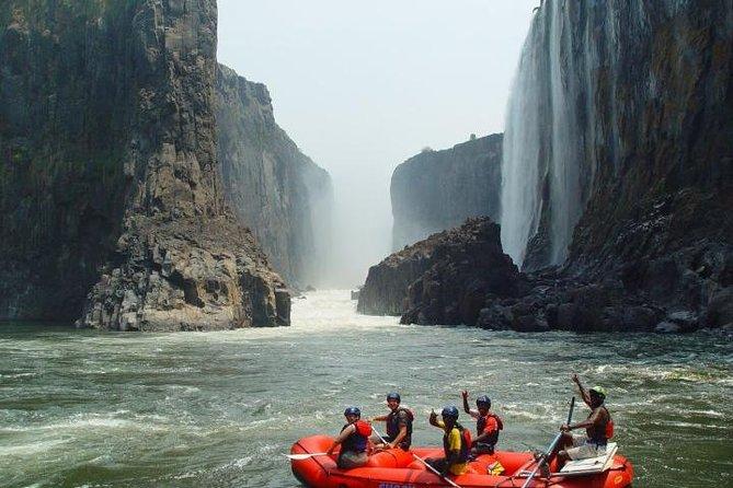 Zambezi River Class IV-V White-Water Rafting from Victoria Falls