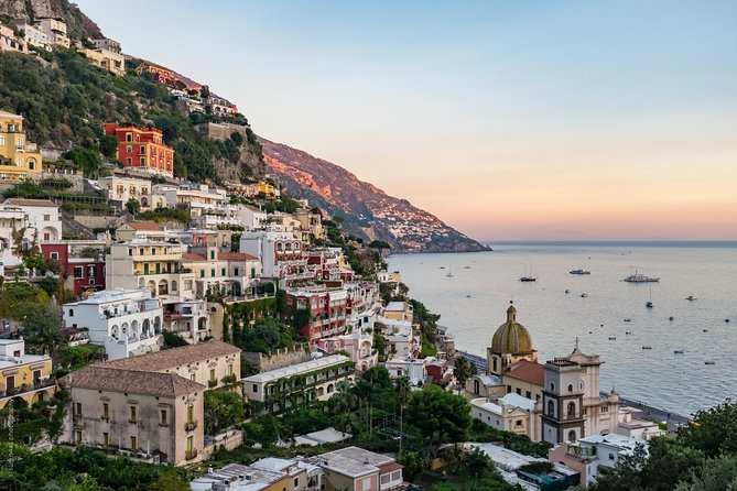 Transfer from Naples to Positano (or reverse) via Pompeii 2hr