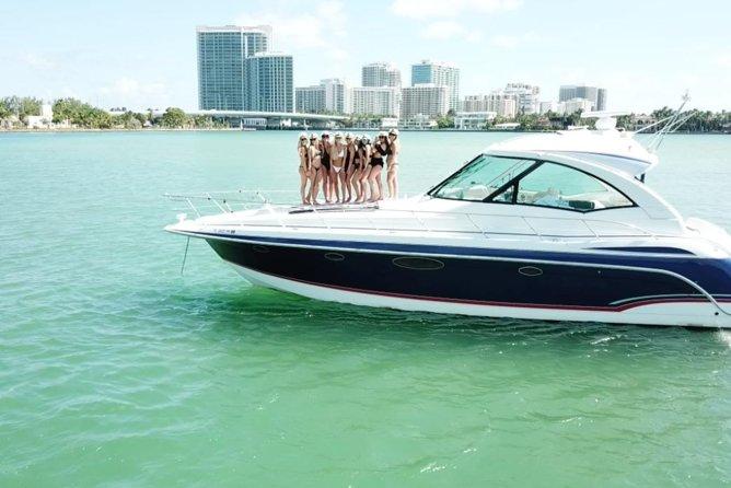 Capt Joes 48ft Luxury Yacht for Birthday Bachelorette Sandbar Parties
