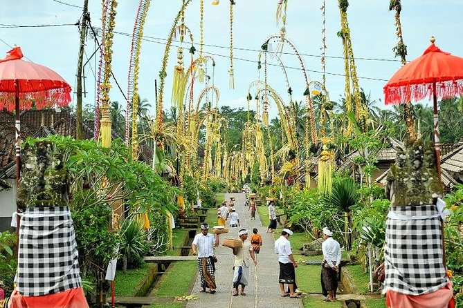 Bali Panglipuran Traditional Villages Tour With Lunch Marriott